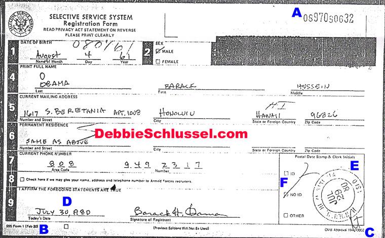 obamas selective service registration