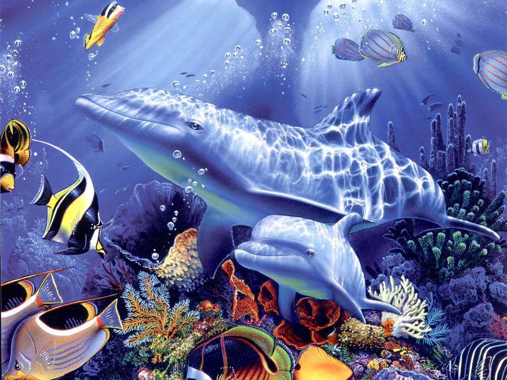 Amazing Wallpaper Horse Ocean - 3d_animals_14  Pictures_208459.jpg